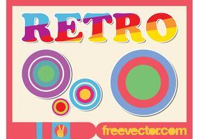 Colorful Retro Stickers