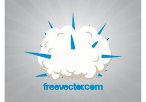 Explosion Cloud Vector