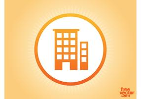 Buildings Vector Icon