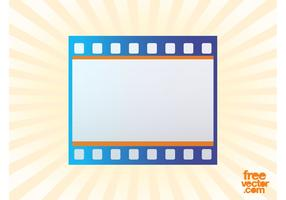 Film Strip Icon Vector