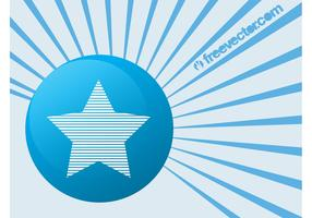 Star Badge Vector Element