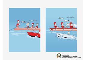 Rowing Vectors