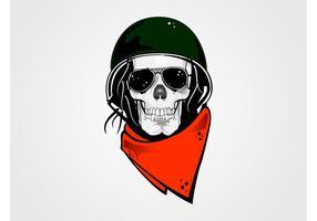Vector Skull Character