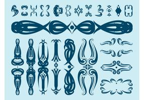 Decorative Floral Scrolls