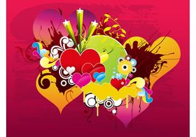 Love Vector Background