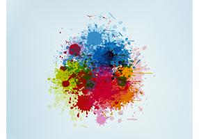 Paint Blobs Vector