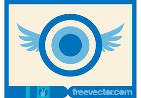 Flying Circles Vector