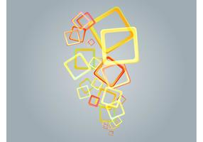 Colorful Squares Vector Art
