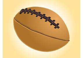 Vector Rugby Ball