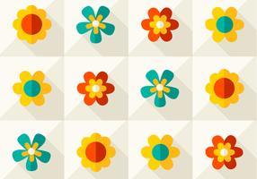 Modern Floral Vector Pattern