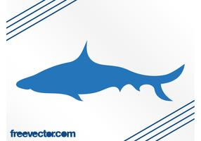 Shark Vector Silhouette