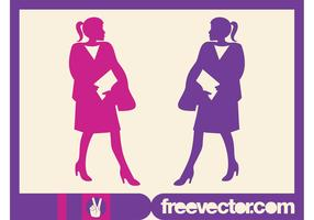 Vector Businesswomen