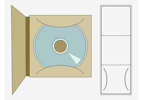 CD Case Template