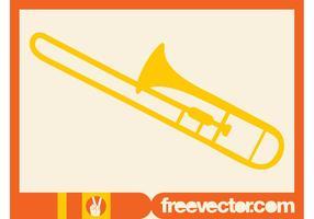 Trombone Vector