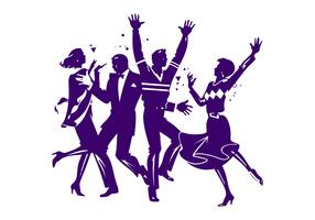 Dancing Party People Graphics