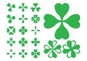 Clover Leaves Icons