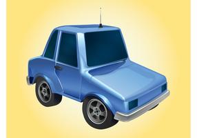 Blue Car Graphics