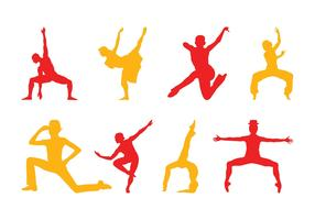 Dancers Silhouettes Pack