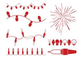 Christmas Lights Graphics