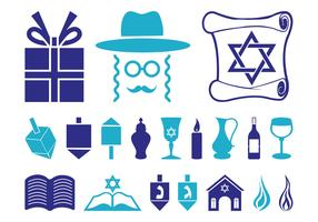 Hanukkah Icon Set