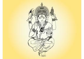 Ganesha Illustration