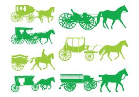 Carriages Silhouettes