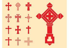 Christian Crosses Set