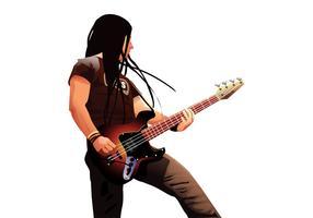 Bass Player Portrait