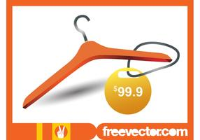 Clothes Hanger And Price Tag