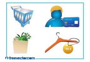 Shopping Graphics Set