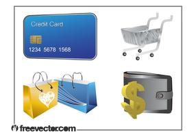Money And Shopping Set