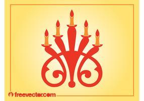 Candleholder Vector