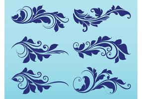 Plant Scrolls Graphics