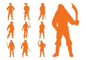 Pirate Silhouettes Set