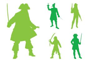 Pirate Silhouettes Graphics