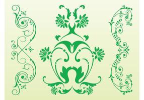 Antique Floral Scrolls