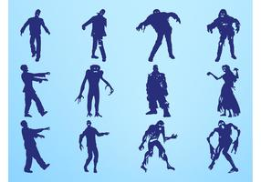 Zombie Silhouettes Graphics