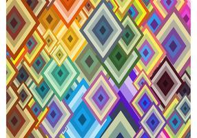 Diamond Shapes Background