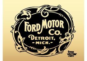 Old Ford Motor Company Logo