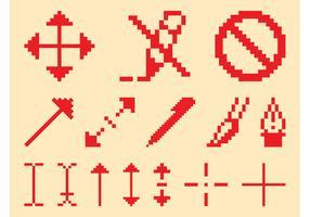 Pixelated Icon Set