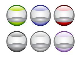 Glossy Spheres Set