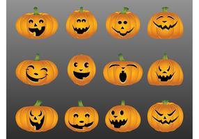 Halloween Pumpkin Set