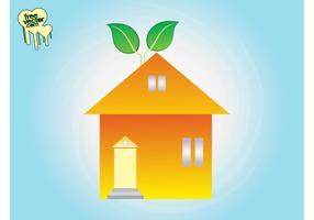 Eco Home Clip Art