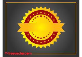 Golden Badge Graphics