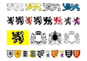 Heraldry Graphics Set