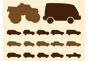 Off-Road Car Silhouettes