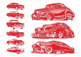 Vintage Cars Set