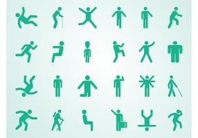 People Pictograms Set