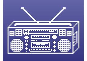 Retro Boombox Graphics