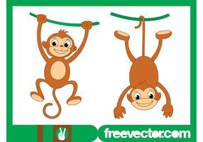 Playing Monkeys Graphics
